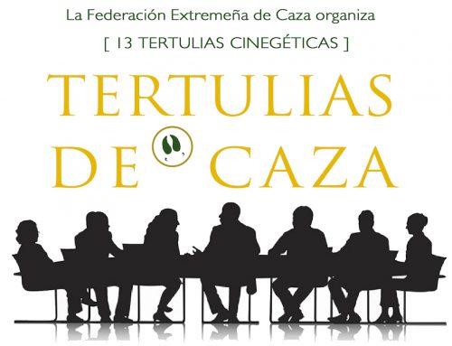 Las Tertulias Cinegéticas de la Federación Extremeña de Caza llegarán a 13 localidades