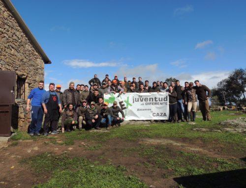Miajadas acoge a más de 100 jóvenes cazadores en la II convivencia de JOCAEX