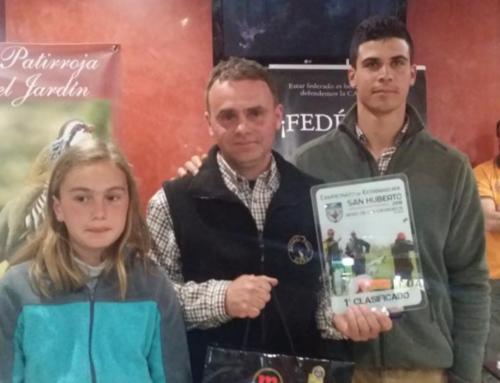 Manuel Corbacho gana la segunda prueba puntuable para el Campeonato de Extremadura de San Huberto
