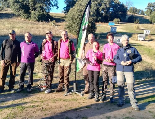 Extremadura suma tres campeonatos de España en el nacional de Recorridos de Caza con Arco y Caza al Vuelo