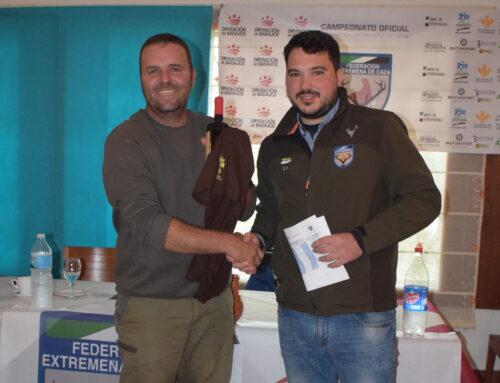 Fernando Barrio se anota la primera fase del Campeonato de Extremadura de Becadas