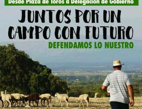 """FEDEXCAZA se suma a la manifestación del 31 de enero en Badajoz para defender """"un campo con futuro"""""""