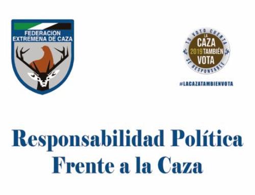 La Federación Extremeña de Caza lanza la campaña #LaCazaTambiénVota de cara al 26-M
