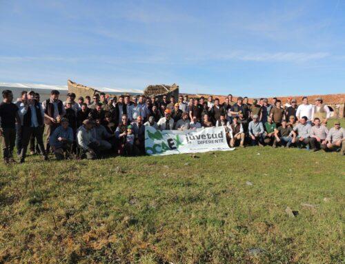JOCAEX reúne a más de un centenar de personas en su tercera convivencia de Jóvenes Cazadores
