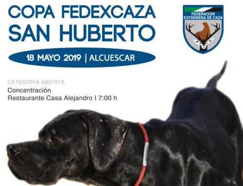 Abierto el plazo de inscripción para la III Copa FEDEXCAZA de San Huberto