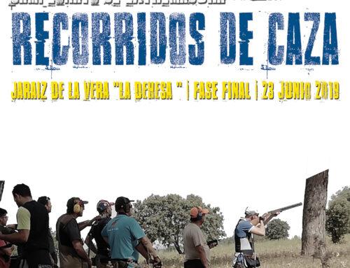 34 tiradores se clasifican para la fase final del Campeonato de Extremadura de Recorridos de Caza