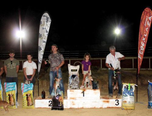50 podencos participan en la III Copa Nocturna de Trabajo para Podenco 'Villa de Hinojosa'