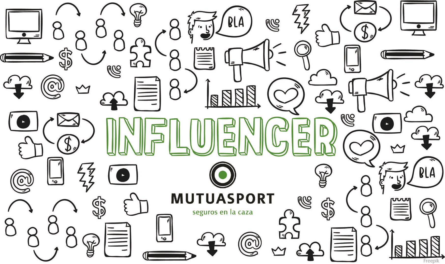 Cartel de la campaña de influencers Stop Accidentes de Caza