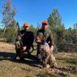 Participante en el Campeonato de Extremadura de Becadas