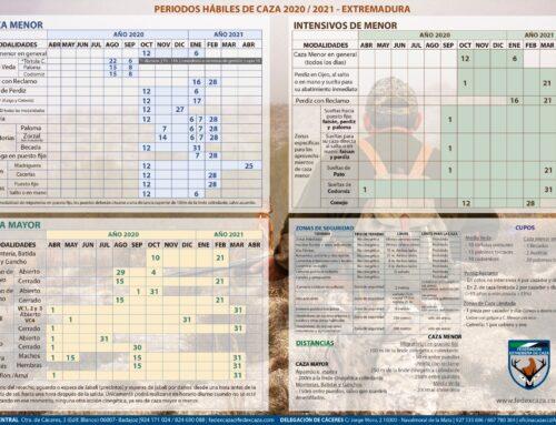 Publicada la Orden General de Vedas de Caza para la temporada 2020/2021