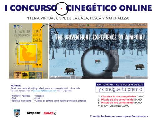 La Feria Virtual Cope de la Caza incluye el I Concurso Cinegético Online
