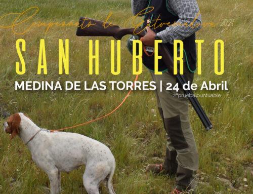 Francisco Trejo se impone en la segunda prueba del Campeonato de Extremadura de San Huberto