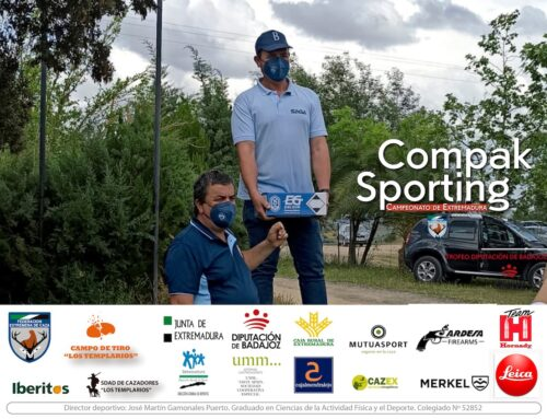Emilio Javier Verdasco Alfonso se proclama campeón de Extremadura de Compak Sporting 2021